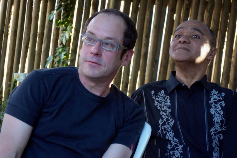 Charl-Pierre Naudé en Floris Brown