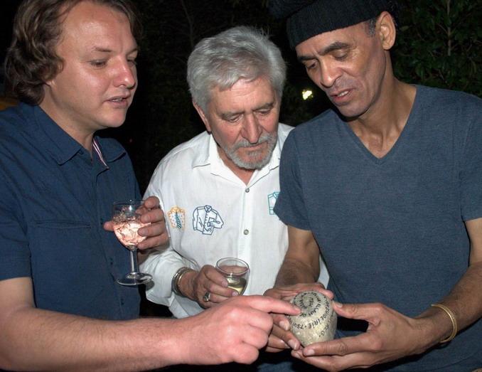Theo Kemp, Ampie Coetzee en Jitsvinger