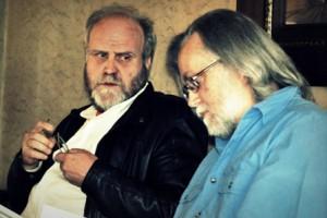 Harry Kalmer in gesprek met Hans Pienaar