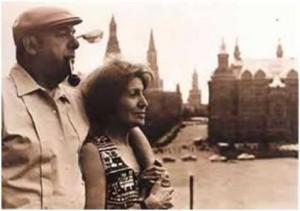 Neruda met sy muse, Matilda