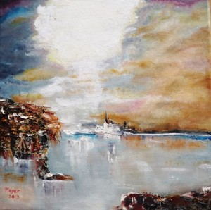 """Island Refuge"". 2013."