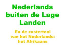 Nederlands.Afrikaans